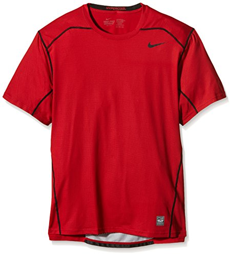 Nike Pro Combat Hypercool Fitted Short Sleeve Shirt Extra Extra Large