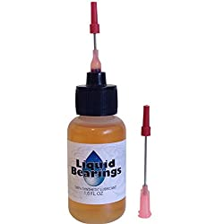 Liquid Bearings synthetic oil for Music, Cuckoo, Black Forest clocks, restores frozen or sticky movements!