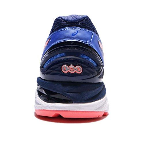 ASICS Women's GT-2000 5 D, Regatta Blue/Flash Coral/Indigo Blue Regatta Blue/Flash Coral/Indigo Blue