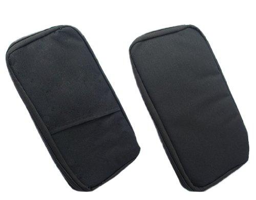BONAMART Portable Travel Passport Credit Card ID Wallet Cash Holder Document Organizer Purse Case Bag Pouch Functional Pocket
