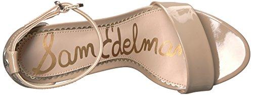 Women's Patent Sandal Edelman Nude Yaro Sam Classic Heeled 85ZPw7xSq