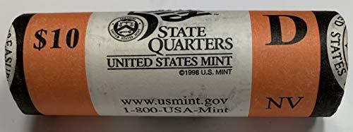 - 2006 D Nevada State Quarter Roll US Mint BU