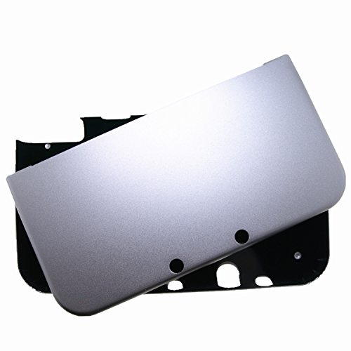 Br   For New Nintendo 3Ds Xl Case Cover Full Aluminum Metal Protector   Free Screen Protectors  Silver