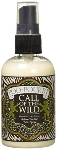 Poo-Pourri Before-You-Go Toilet Spray 4-Ounce Bottle, Call of the Wild - OLD BOTTLE STYLE
