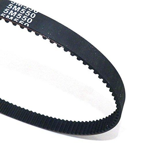 yunshuo nuevo disco 550 –  5 M-15 HTD Correa dentada 15 mm de ancho 5 mm Pitch