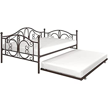 Amazon Com Dhp Bombay Metal Full Size Daybed Frame With