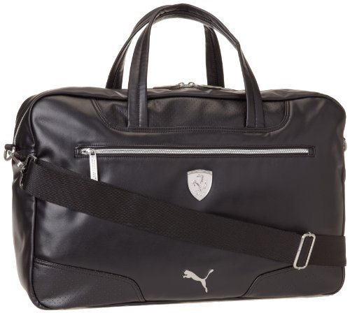 PUMA Men s Ferrari Long Sleeve Weekender Messenger Bag, Black, One Size 960dd41b89
