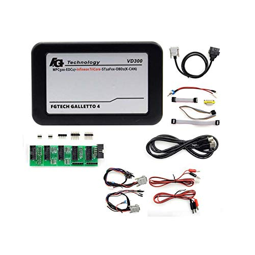 Oddalsail VD300 V54FG Car ECU Programmer Tool BDM-OBDII Full Set Master Diagnostic Tool Black ()