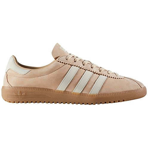 adidas Original Bermuda Beige, Rot BY9653, BY9654. Schuhe Herren. Sneaker Pale Nude