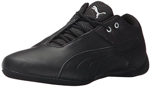 PUMA Men's Future Cat Reeng Quilted Sneaker,Puma Black-Puma Silver-Tibetan Red,10.5 M US