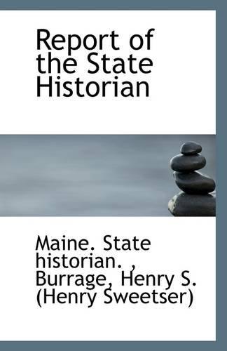 Report of the State Historian pdf epub