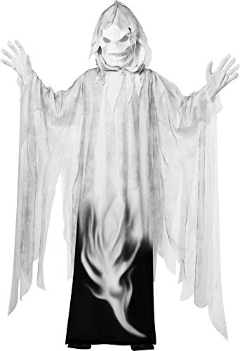 Spooky Spine Chilling Evil Spirit Haunting Halloween Ghost Costume Child Boys