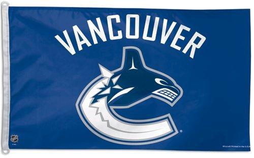 NHL Banner Flag NHL Team: Vancouver Canucks 1