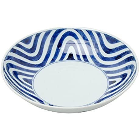 Arita Yaki Wave 8 3inch Medium Bowl Porcelain