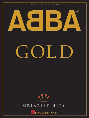 ABBA - Gold: Greatest Hits (Piano/Vocal/guitar Artist Songbook) (Pvg Book Sheet Music)