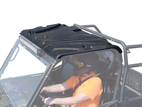 SuperATV Plastic Roof for Polaris Ranger Full Size 500/570 / 700/800 / 6x6 / 900 Diesel (See Fitment) - Easy to ()