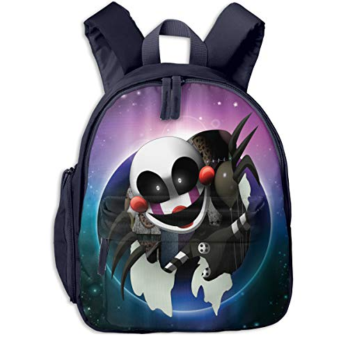 Price comparison product image Puppet Five Nights at Freddy's Gift Preschool Backpack Little Kid Book Bag for Boys Girls Navy