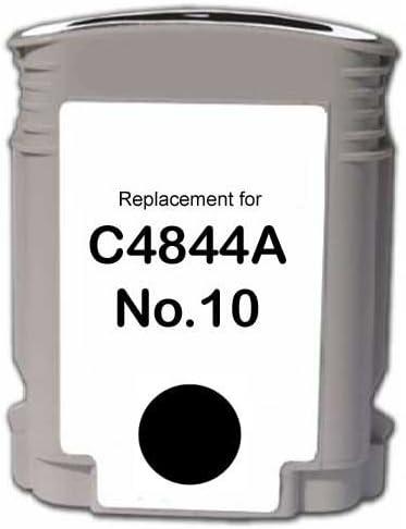 8 Inkjet Cartridges Myriad Re-Manufactured Inkjet Cartridges Bulk: RC4844-8 Replacement for HP C4844A 10 Black; Black Ink