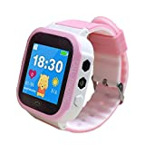 "Kids Smartwatch 1.44"" GPS Tracker Phone for Boys Girls with Pedometer Fitness Tracker"