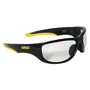 DeWalt DPG94-1C Dominator Safety Glasses, Clear Lens