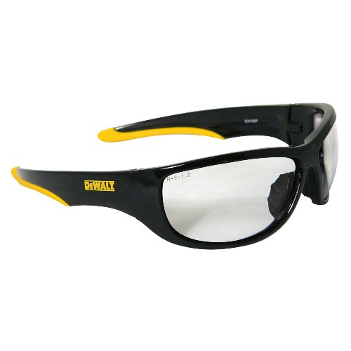 DEWALT DPG94-1C Dominator SAFETY Glasses, Clear Lens (Multi Lens Biking Glases)