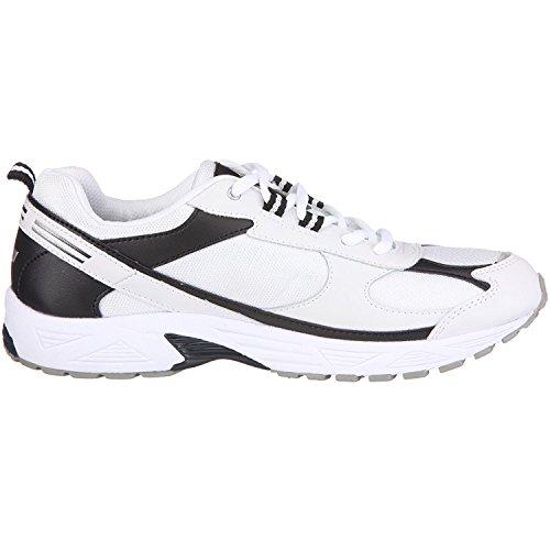 Lico RAMON Sneakers Sportschuhe - Running Nylon (weiss/marine/silber), EU36-37