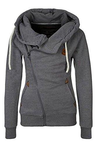 Sovoyant Womens Pockets Pullover Sweatshirt
