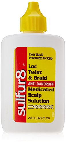 - Sulfur8 Loc Twist and Braid Medicated Scalp Solution, 2.5 Ounce