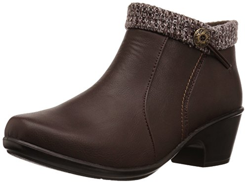 Ankle Women's Dawna Brown Bootie Easy Street Knit 5TqxwZHtE