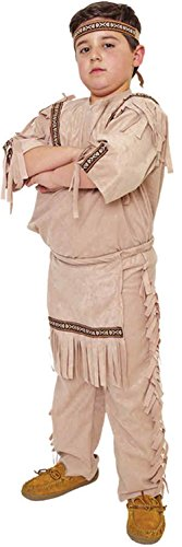 GTH Boy's Indian Boy Kids Child Fancy Dress Party Halloween Costume, S (4-6) (Plus Size Indian Fancy Dress)