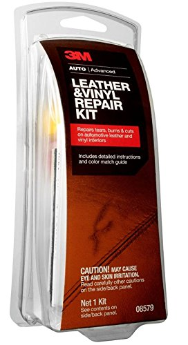 3M 08579 Leather & Vinyl Repair Kit (Best Leather Seat Repair Kit)