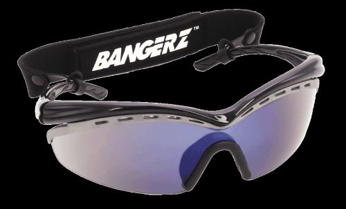 Bangerz HS-8500 Sport's Sunglasses - Scratch Resistant 100% UV Protection Rainbow Lens - Baseball Softball Cycling Fishing Soccer