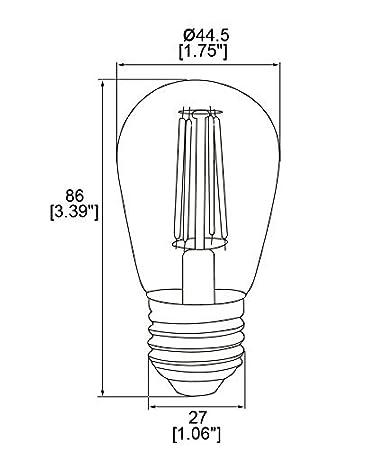 E27 4w Edison