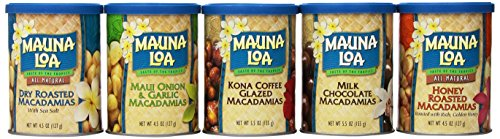 Mauna Loa Island Classics Assortment, 5.5 oz, 6-Count Macadamia Nut