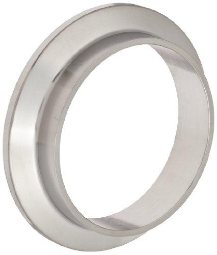 (Dixon 14WMP-G200 Stainless Steel 304 Sanitary Fitting, Short Weld Clamp Ferrule, 2