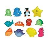 Ludi - Jouets pour le Bain - Aspergeurs - 12 Mers
