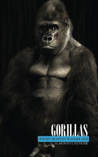Gorillas Pocket Monthly Planner 2018: 16 Month Calendar pdf epub