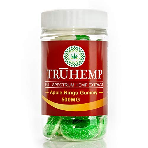 Hemp Oil Gummies 500MG - 14 MG Each Gummy - Superstrong & USA Made - 100% Natural & Safe Hemp Extract - Tasty Hemp Gummies for Pain, Stress & Anxiety Relief - Sleep & Mood Support - Rich in Omega 3