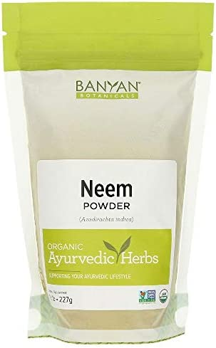 Banyan Botanicals Neem Powder – USDA Organic – 1 2 Pound, Azadirachta Indica – Ayurvedic Herb for Skin Blood*