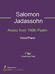Arioso from 100th Psalm