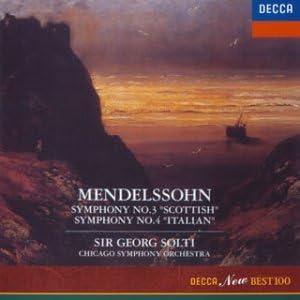 メンデルスゾーン:交響曲3&4