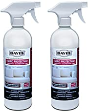 Bayes High-Performance Fabric Protectant Spray for Indoor and Outdoor Use - Water, Stain, and UV Rays Repellent - 24 oz