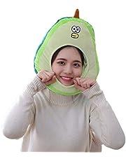 Amosfun Verstelbare avocado-hoed grappig cosplay headwear gevuld speelgoed foto rekwisieten