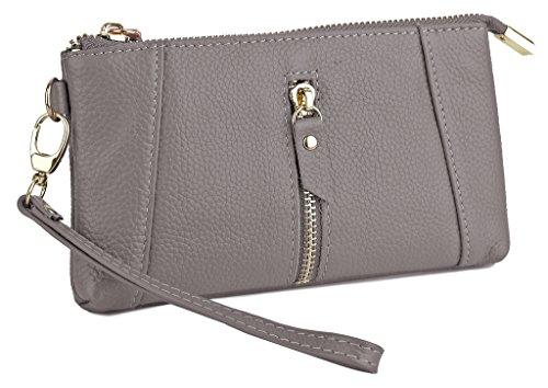 YALUXE Capacity Wristlet Checkbook Smartphone