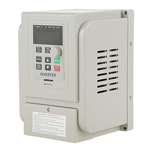 VFD-2.2KW Variable Frequency Drive MYSWEETY VFD Inverter Frequency Converter 2.2KW 3HP 220V 12A for Spindle Motor Speed Control