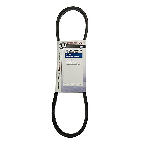 Mtd OEM-754-04050 Snowblower Auger Drive Belt Genuine Original Equipment Manufacturer (OEM) Part