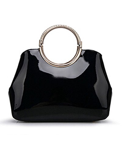 Whoinshop, Borsa a mano donna black