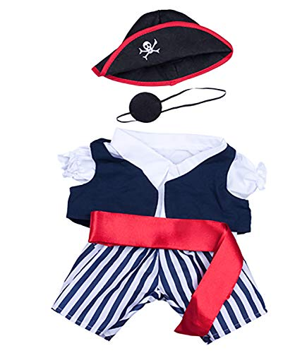 Pirate Outfit Fits 8