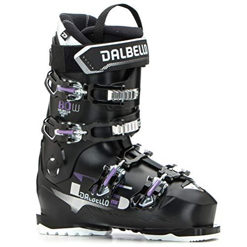 Dalbello DS MX 80 W Womens Ski Boots 2020-25.5/Black-Black