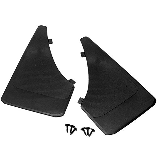 Sizver Universal MudGuards Flaps Splash Guards Fits Toyota Celica MR2 Matrix Solara Supra Yaris Set 2pc (length 13